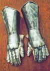 Pantserhandschoenen 15e eeuw 2